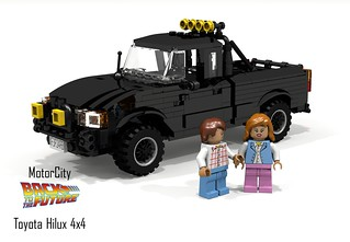 Toyota Hilux 4x4 Pickup (Back to the Future I & II) - MotorCity