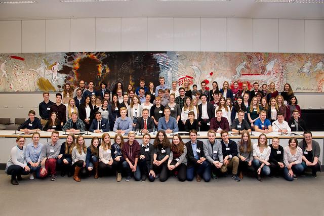 Jugendpressetag vom 11. - 13.11.2015 bei der SPD-Bundestagsfraktion