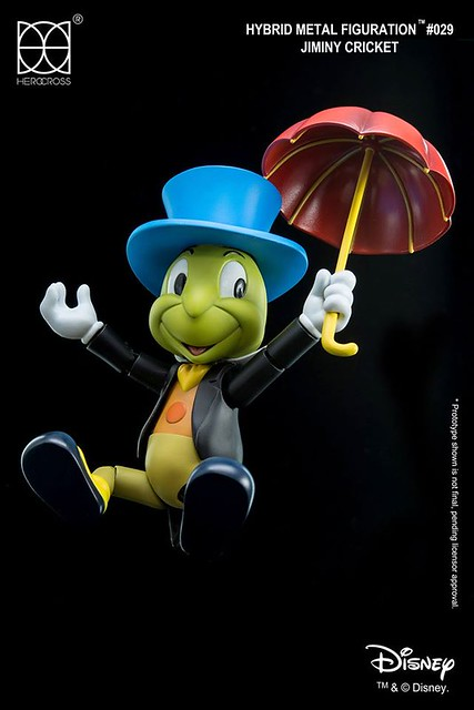HEROCROSS【吉明尼小蟋蟀】木偶奇遇記 Jiminy Cricket 帶你走對的路!!