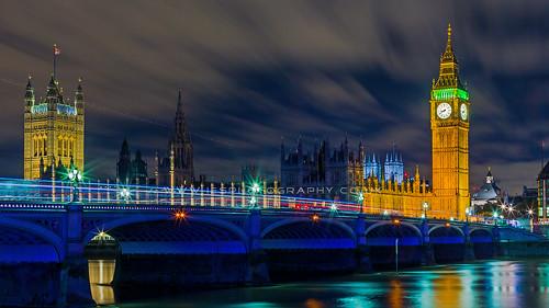 Houses of Parliament, Westminster Bridge, London