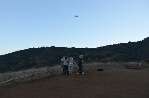 Bay Area Selfie (drone)