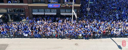 Royals victory parade.