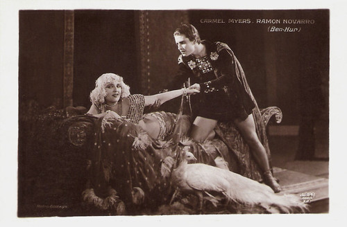 Carmel Myers and Ramon Novarro in Ben-Hur: A Tale of the Christ (1925)