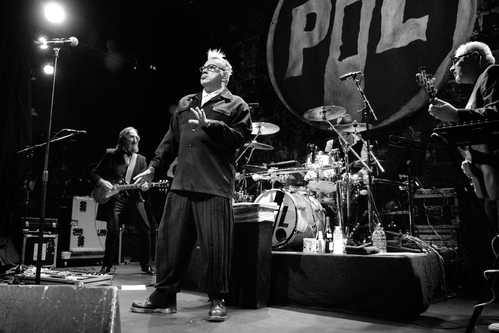 Public Image Ltd (PiL) - Johnny Rotten - Denver Concert