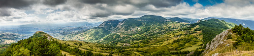 pano east from monte bertone