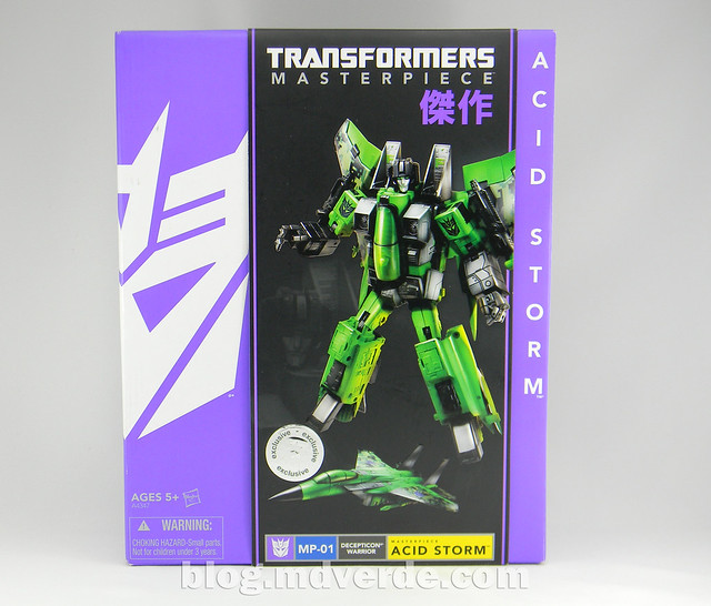 Transformers Acid Storm Masterpiece - caja