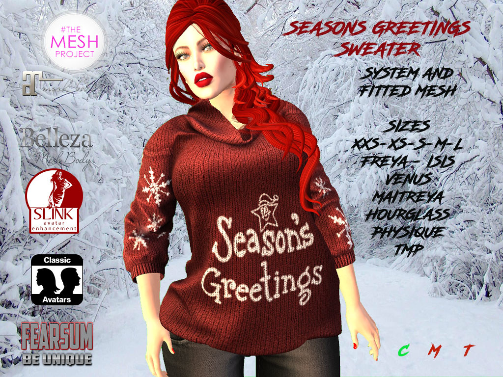 Seasons Greetings - SecondLifeHub.com