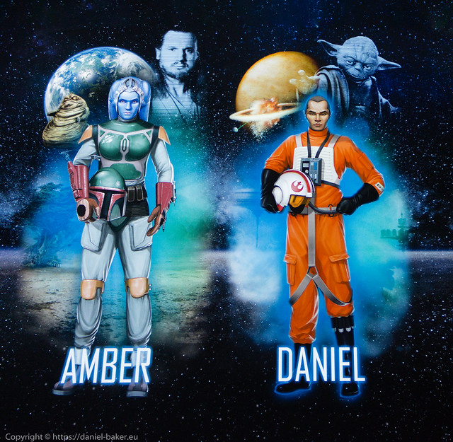 Amber and Daniel's Star Wars Identities