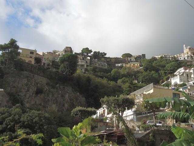 Italy (Positano) Hillside houses