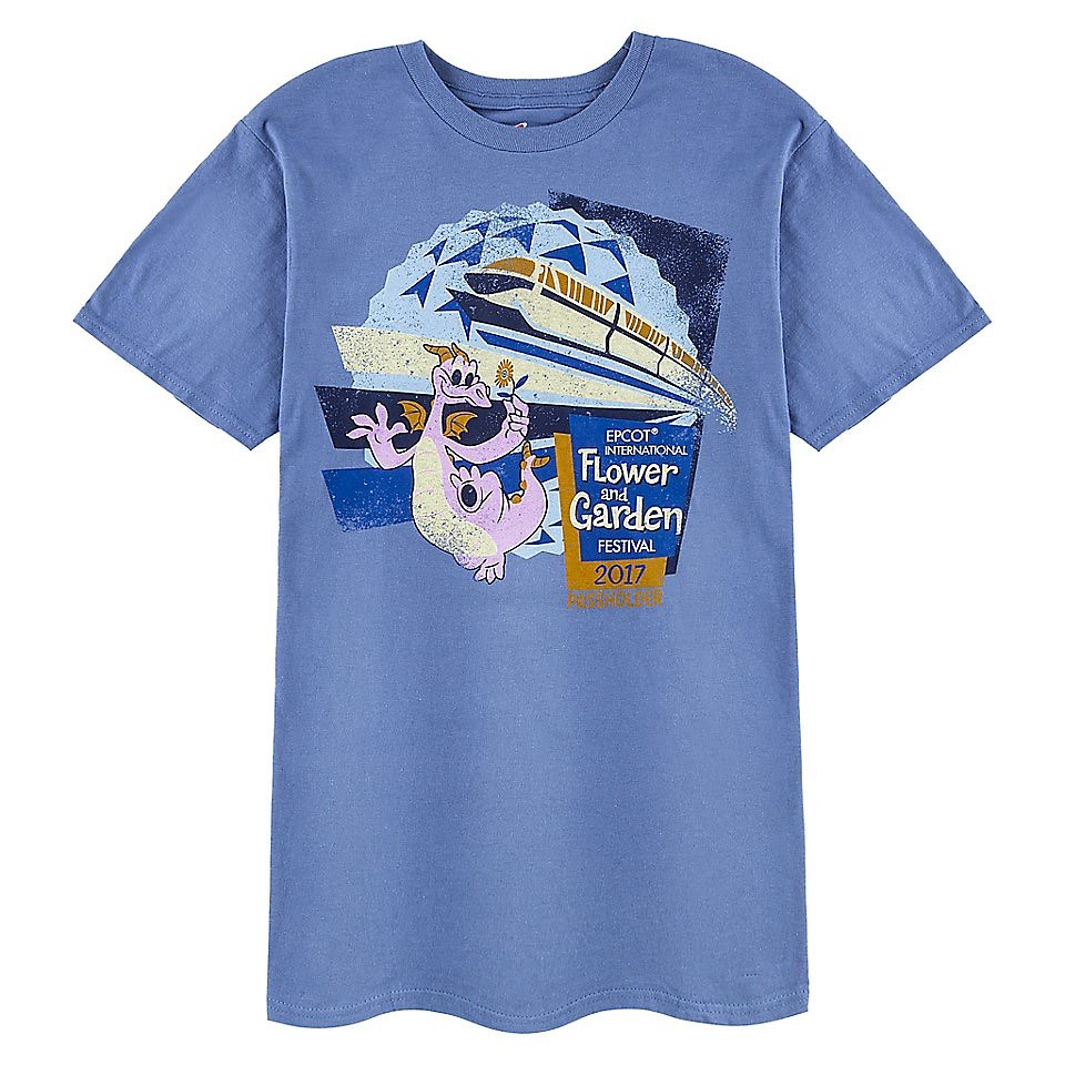 Epcot International Flower and Garden Festival 2017 Passholder T-Shirt