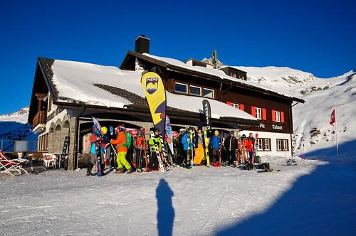Hotel Piz Calmot, jediný hotel vprůsmyku Oberalp
