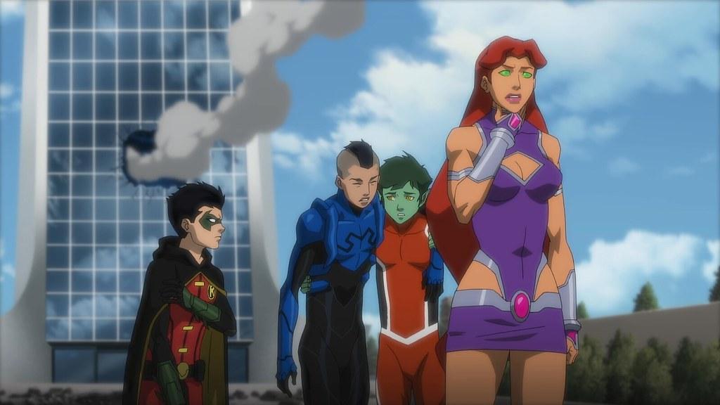 Justice League Vs Teen Titans  Solidsmax   Flickr-2604