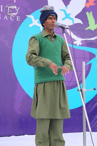 Gulab Dass from Gajraula, expresses his views