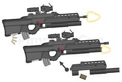 XAR-544 bullpup assault rifle