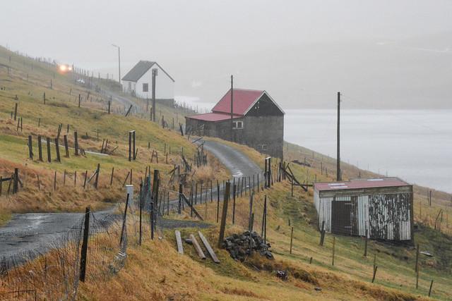 Tvøroyri, Suðuroy, Faroe Islands.