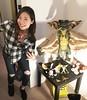 Nerding out over @hollywoodhaza's #Gremlins figures.  #gangsta #mogwai #setlife #bts #setdec #nerd #geek #asian #collector