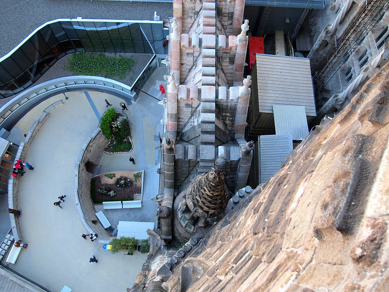 View from a Sagrada Familia tower