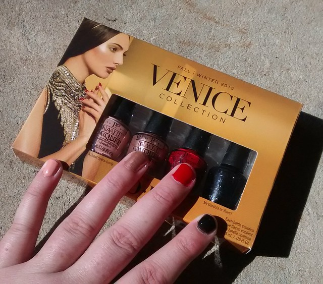 OPI Venice Collection nailpolish