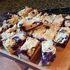 #blueberrycrumbbars #Sewfrench #PureMichigan #dessert #healthfoodIncognito