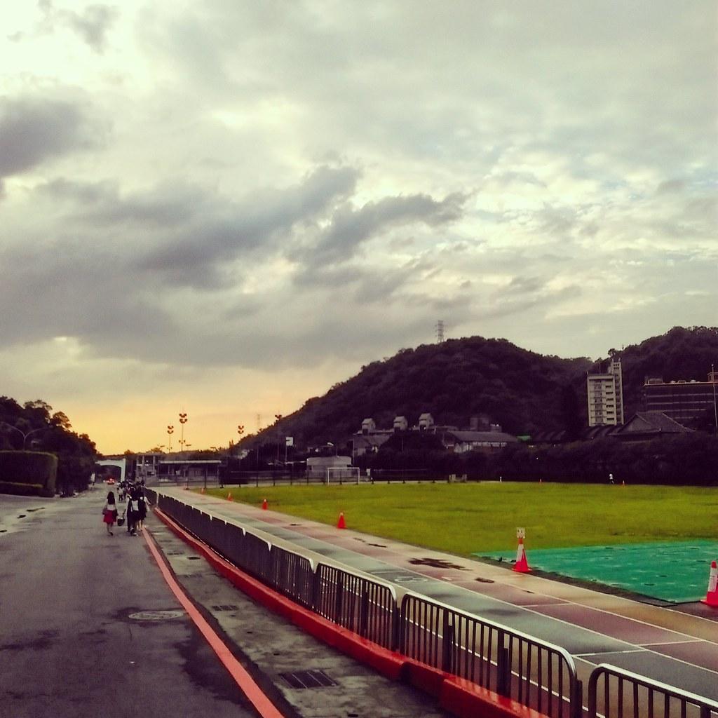 東吳大學夕陽