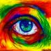 Rainbow-eye Fractalius by Marco Braun