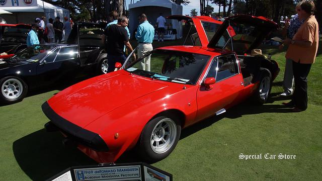 1969 DeTomaso Mangusta Bordinat Mangusta Prototype