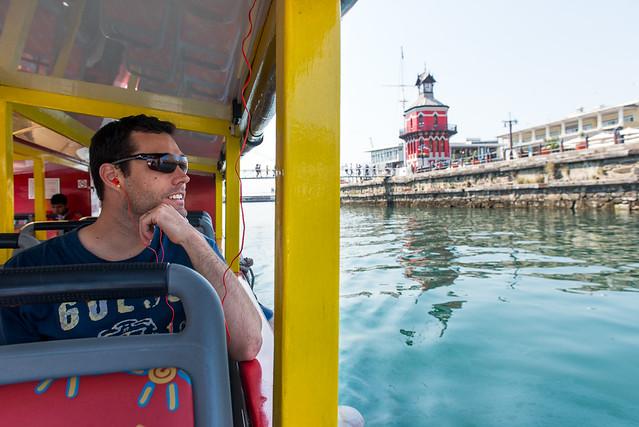 Waterfront clocktower