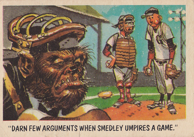 """You'll Die Laughing"" Topps trading cards 1959,  illustrated by Jack Davis (54)"