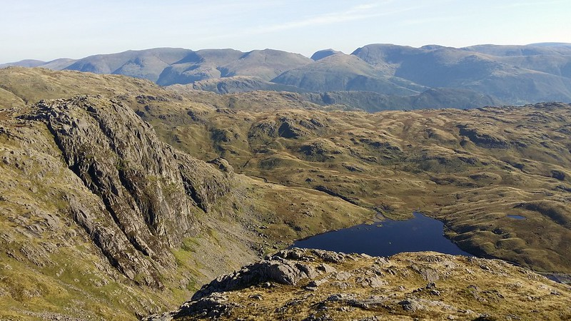 Pavey Ark and Stickle Tarn from Harrison Stickle #sh