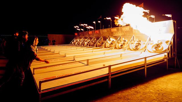 Fire Skeetball Madness
