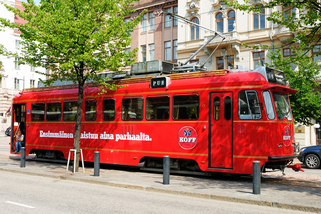 Helsinki - Strassenbahn