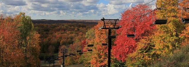 Crystal Mountain Fall