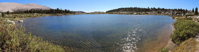 Panorama shot from the western shore of Cottonwood Lake Number 2