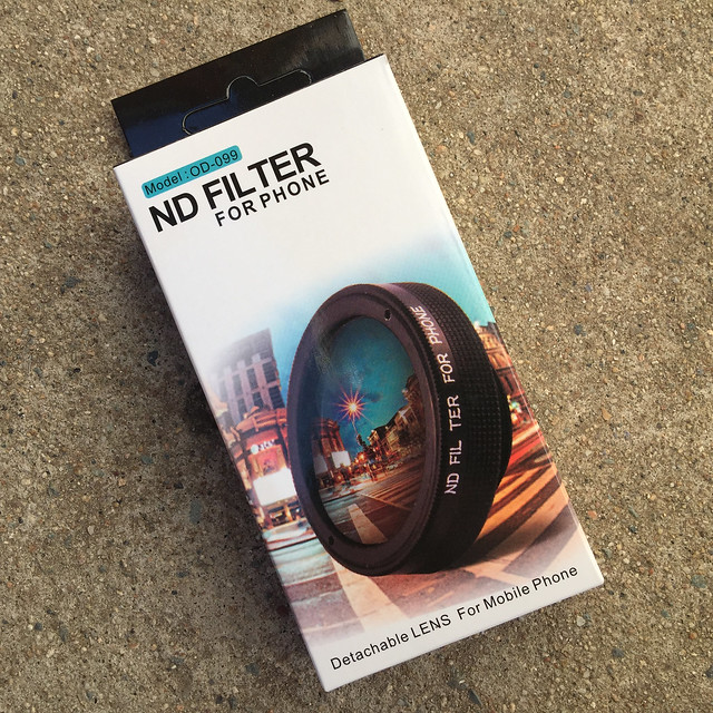 ND Filter Lens Box