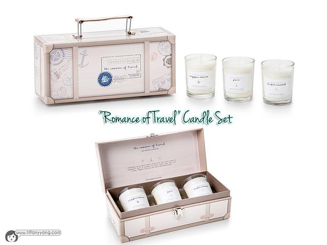 Romance of Travel Candle Set
