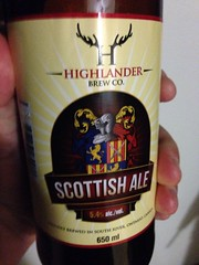 Beersperiment: Highlander Brewing\'s Scottish Ale (South River, Ont) @halyma: 3* me:4*