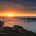 p52 43/52 Golden Gate Sunrise by CircadianReflections Photography