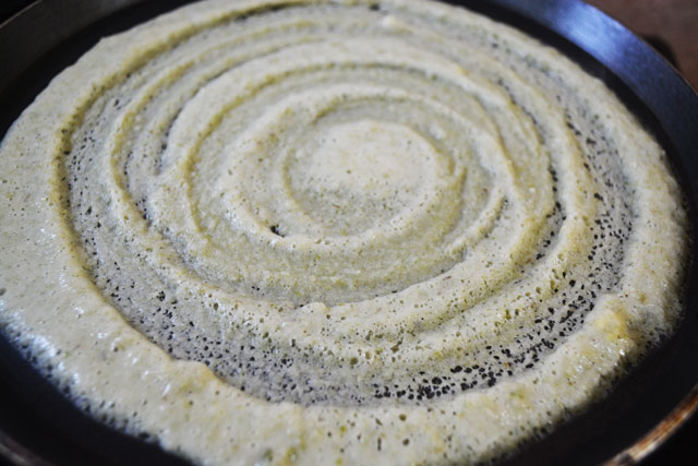 Andhra Pesarattu/ Moong Dhal Dosa Recipe - Step7
