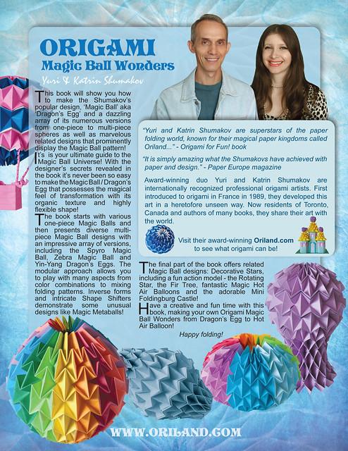 ORIGAMI MAGIC BALL WONDERS Book!