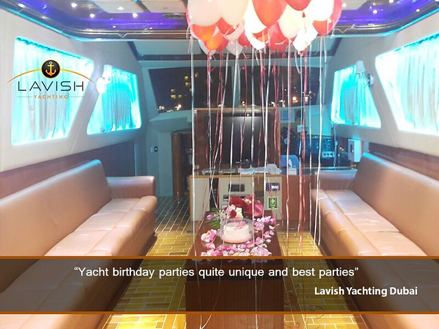 Yacht Birthday Party