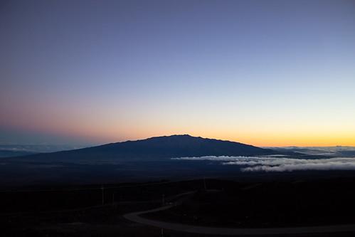 sunrise astronomy bigisland maunakea beltofvenus