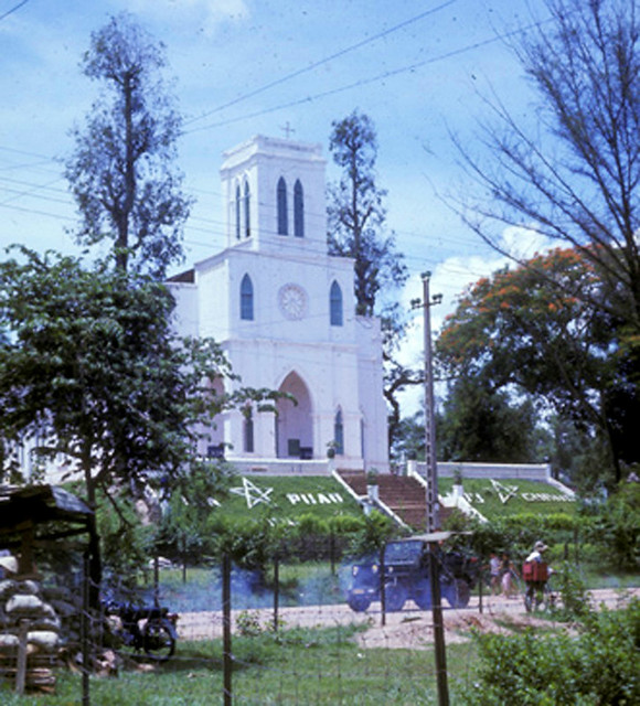 The Catholic Church in Phu Cuong 1968