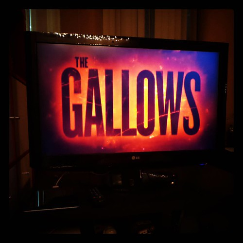 The Gallows. Not bad. Not bad, at all.