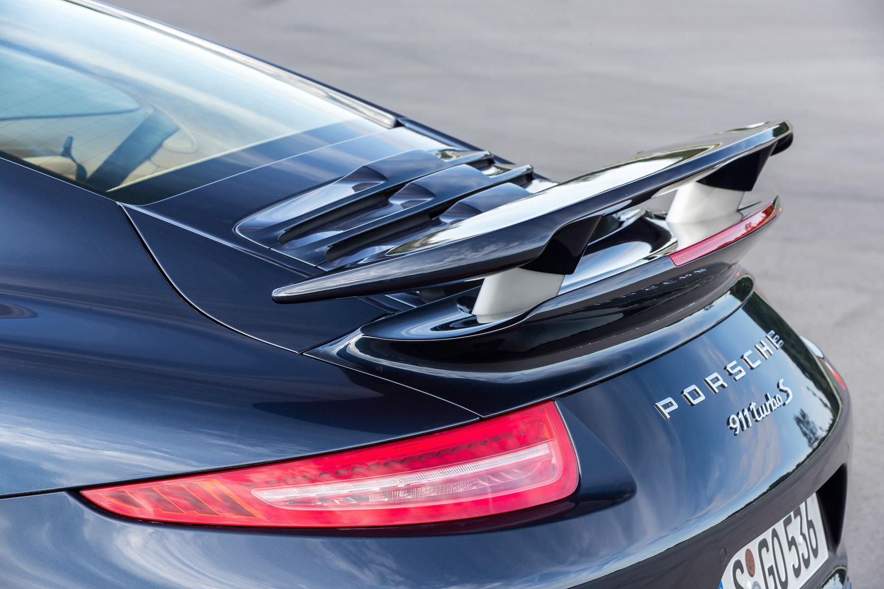 Porsche 911. Активная аэродинамика PAA
