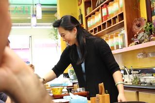 A Tea Lady @ China Town, San Francisco