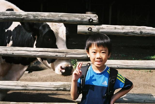 普通列車で盛岡旅行2 盛岡市動物公園 Minolta HI-MATIC