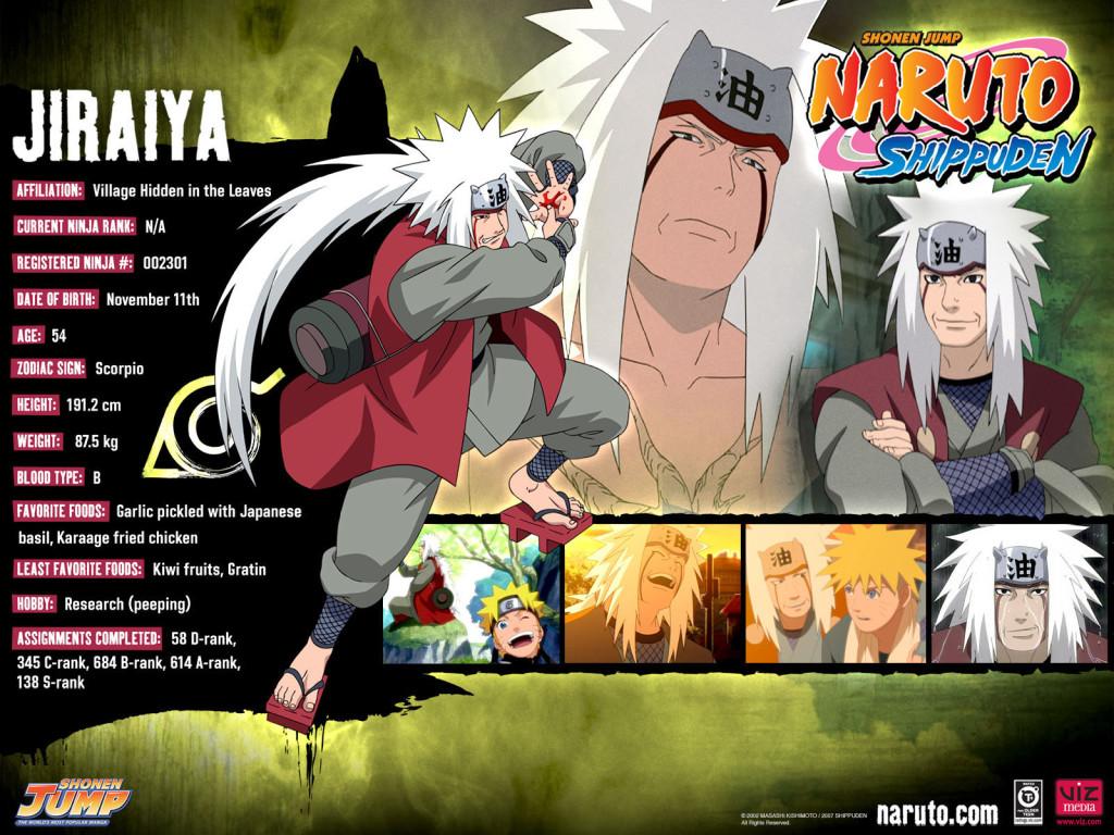 Jiraiya Naruto Shippuden Wallpaper 1024x768