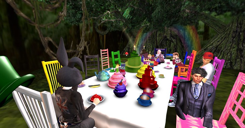 A mad hat tea party