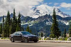 BMW M3 at Mount Baker, Washington