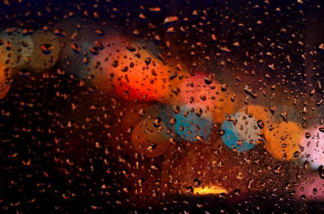 Rainy Night in Portland